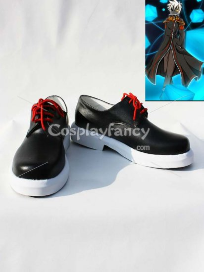 Cheap ELSWORD Glave Black Cosplay Shoes on sale