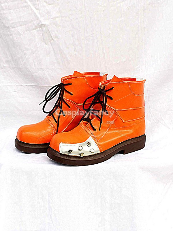 Final Fantasy VII Tifa Lockhart Orange Cosplay Boots