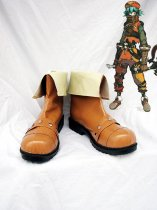 Hack//G.U. Kite Brown Cosplay Boots