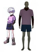 Hunter X Hunter Cosplay Killua Zaoldyeck Cosplay Costume