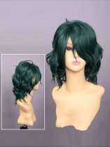 Kamigami no Asobi Cosplay Hades Aidoneus Green Cosplay Wig