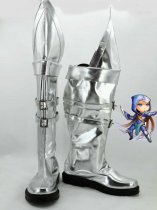 League of Legends Talon Silver Cosplay Boots
