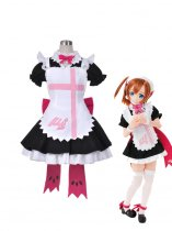 Love Live! Kousaka Honoka Maid Cosplay Theatrical Costume