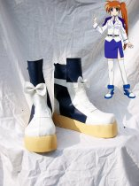 Magical Girl Lyrical Nanoha Nanoha Takamachi Cosplay Boots