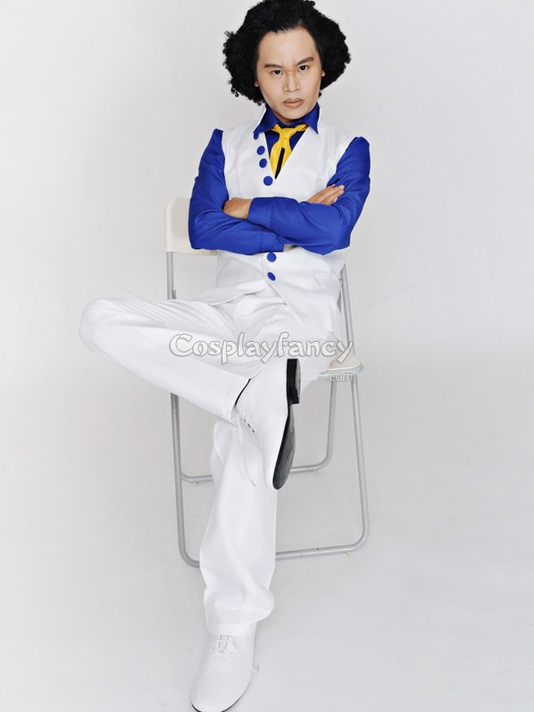 One Piece Cosplay Kuzan Cosplay Costume
