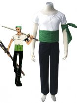 One Piece Cosplay Roronoa Zoro Cosplay Costume
