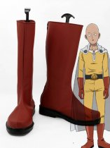 One-Punch Man Saitama Fighting Uniform Anime Cosplay Boots
