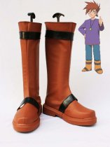 Pokemon Adventures Cosplay Gary Oak Cosplay Boots