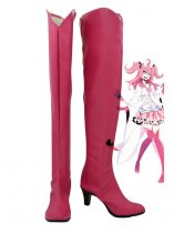 Pokemon Sylveon Pink Hight Heel Cosplay Boots