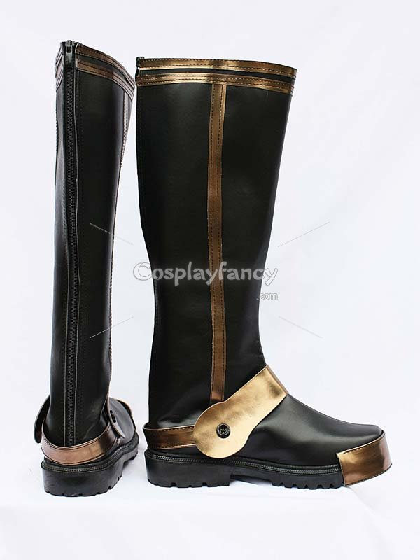 Samurai Warriors 3 Motonari Mori Cosplay Boots