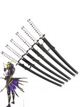 Samurai Warriors Masamune Date Cosplay Wood Sword 6 Pieces