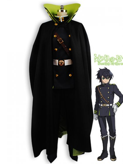 Seraph of the End Yuichiro Hyakuya Uniform Cosplay Costume