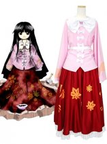 Touhou Project Imperishable Night Kaguya Houraisan Coplay Costume