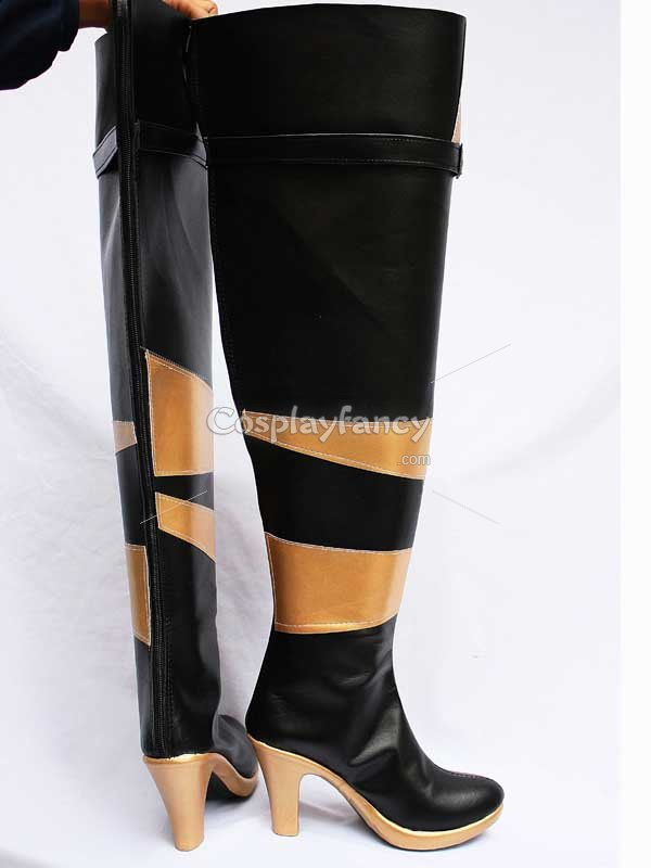 Vocaloid Lily PU Cosplay Boots