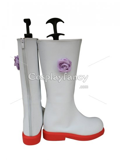 Vocaloid Meiko Cosplay Show Leather Boots - Click Image to Close