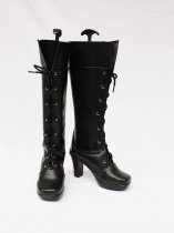 Vocaloid2 Kety Cosplay Leather High Boots