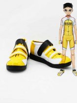 Yowamushi Pedal Onoda Sakamichi Yellow Cosplay Shoes