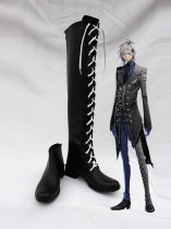 Amnesia Cosplay IKKI Artificial Leather Boots