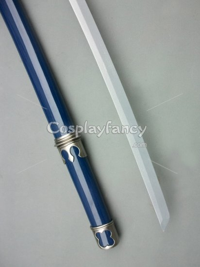 Ao no Exorcist Cosplay Rin Okumura Wood Cosplay Sword - Click Image to Close