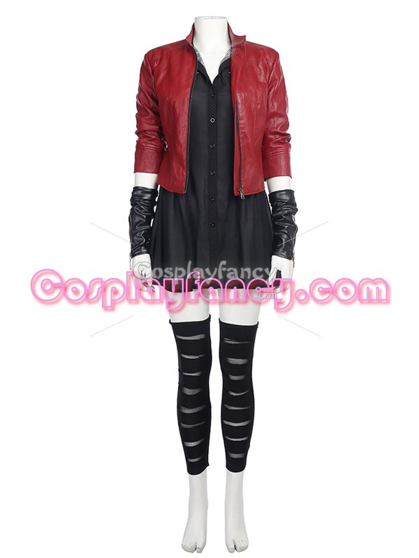 Avengers 2 : Age of Ultron Scarlett Witch Cosplay Costume