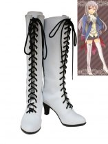 Axis Powers Cosplay Prussia/Julchen Beilschmidt White Cosplay Boots
