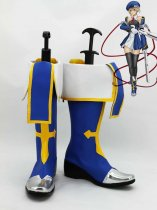 BlazBlue Noel Vermillion Blue Cosplay Boots