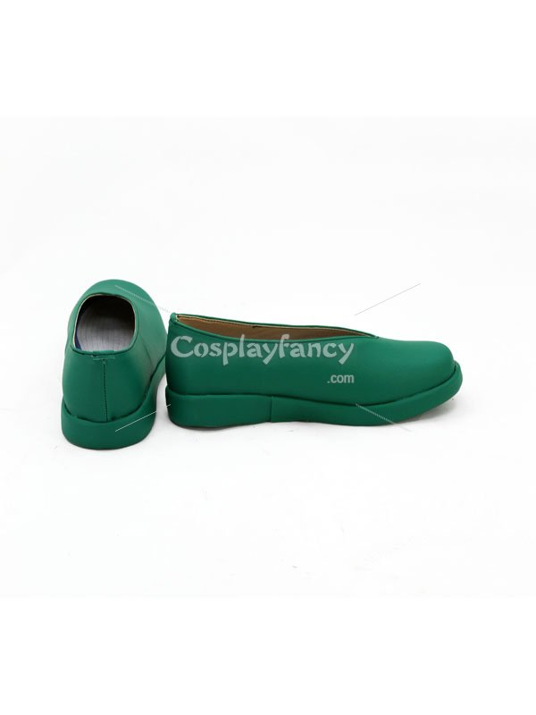 Cardcaptor Sakura Cosplay Syaoran Li Green Anime Cosplay Shoes