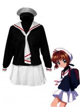 Cardcaptor Sakura Cosplay Tomoe Primary School Girls Winter Cosplay Costume