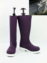 D.Gray-man Cosplay Four Purple Cosplay Boots