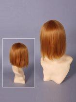 Death Note Mello/Mihael Keehl Golden Cosplay Wig