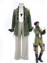 Final Fantasy XIII Cosplay Sazh Katzroy Uniform Cloth Cosplay Costume