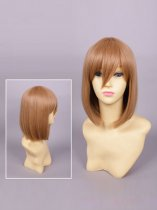 Hyperdimension Neptunia Rom/White Sister Brown Cosplay Wig