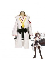 Kantai Collection Fleet Girls Kongou Cosplay Costume