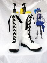 Kuroshitsuji: Book of Circus Ciel Phantomhive White Cosplay Lace Up Boots
