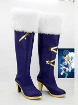 LOVE LIVE! Blue & White Copslay Boots