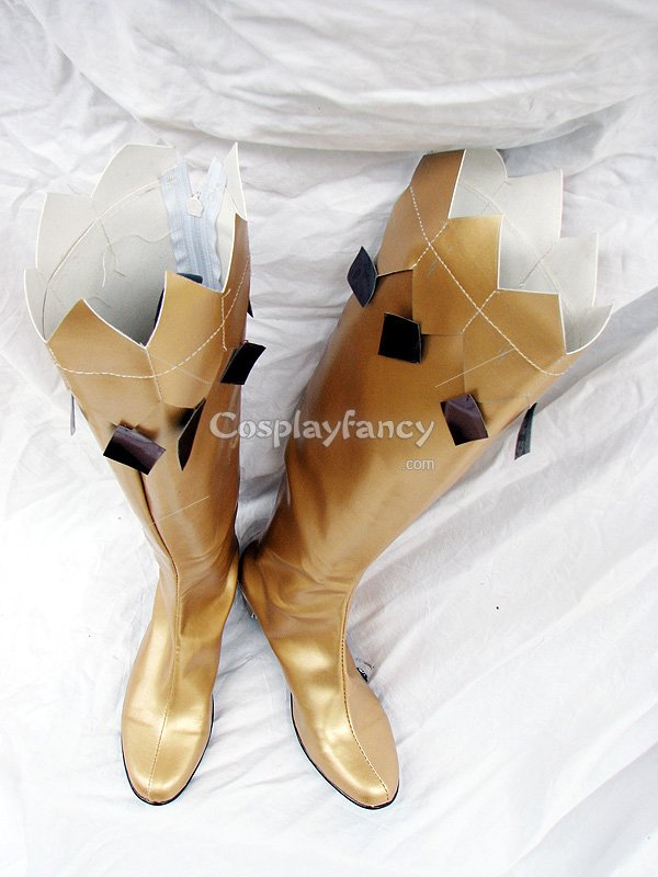 Sailor Moon Gold Cosplay Boots