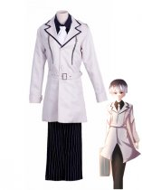 Tokyo Ghoul:re Haise Sasaki White Uniform Cosplay Costume