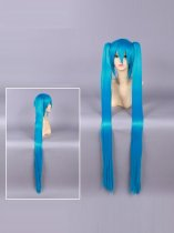 Vocaloid Romeo and Cinderella Hatsune Miku Blue Cosplay Wig