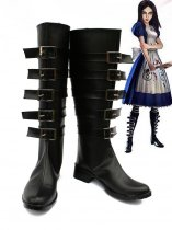 Alice: Madness Returns Alice Black Coplay Boots