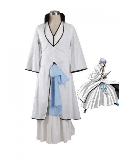 Bleach Cosplay Uniform Cloth Ichimaru Gin Suit Cosplay Costume