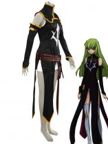 Code Geass Cosplay C.C. 2nd Uniform Cosplay Costume