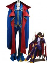 Code Geass Cosplay ZERO Uniform Cosplay Costume