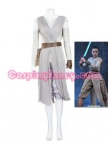 Deluxe Women's Star Wars Rey Movie Cosplay Costume