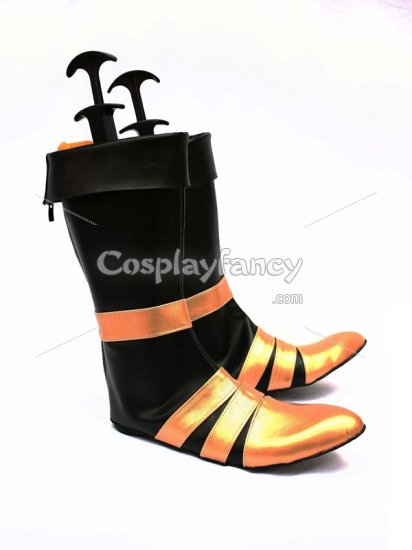 Final Fantasy VII Vincent Valentine Cosplay Show Boots - Click Image to Close