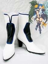 Guilty Gear Dizzy White Cosplay Boots