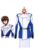Gundam Seed Kira Yamato Uniform Cloth Cosplay Costume