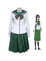 Highschool of the Dead Saeko Busujima School Uniform Cosplay Costume