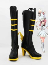 KILL la KILL Cosplay Nonon Jakuzure Black Hight Heel Cosplay Boots