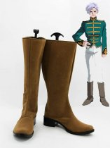MOBILE SUIT GUNDAM Angelo Sauper Cosplay Boots