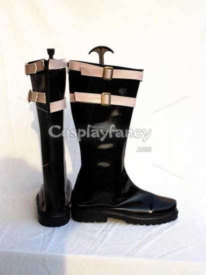 One Piece Mihawk Cosplay Show Boots - Click Image to Close